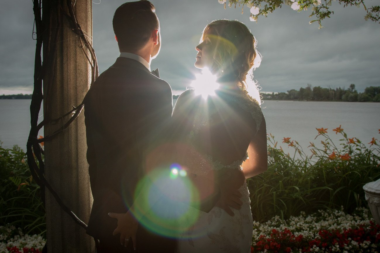 chateau vaudreuil wedding photo